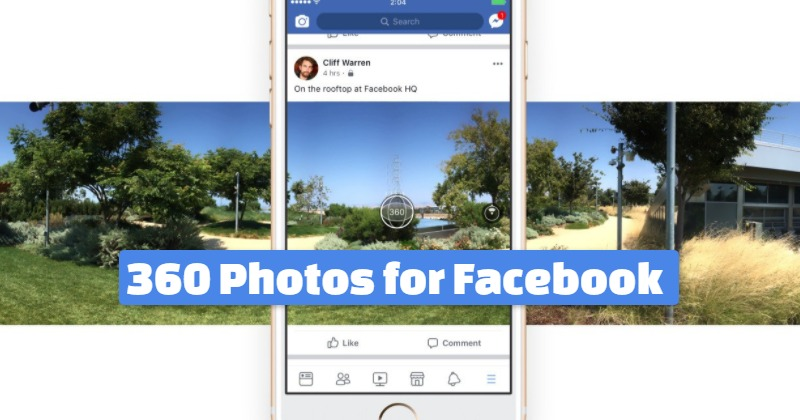 360 Photos for Facebook